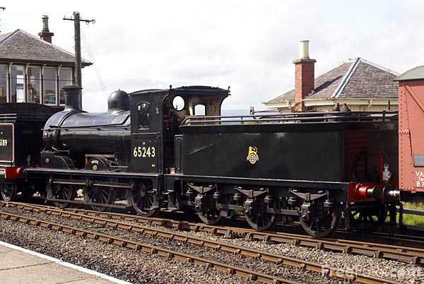 Picture of North British Railway Class C 0-6-0 number 673 Maude - Free Pictures - FreeFoto.com