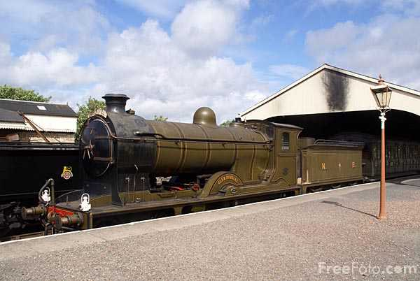 Picture of North British Railway Class K 4-4-0 number 256 Glen Douglas - Free Pictures - FreeFoto.com