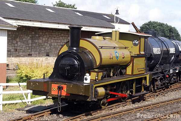 Picture of North British Railway G class 0-4-0ST number 42 - Free Pictures - FreeFoto.com