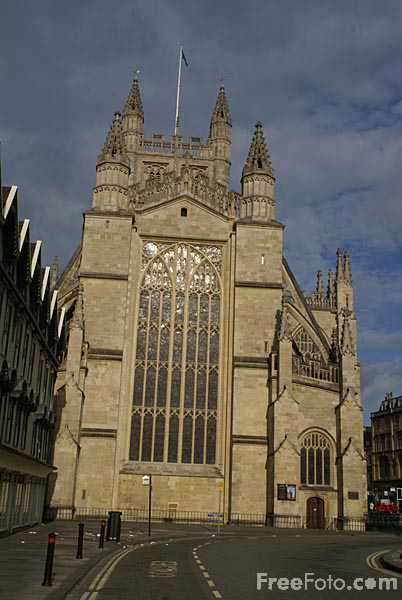 Picture of Bath Abbey - Free Pictures - FreeFoto.com
