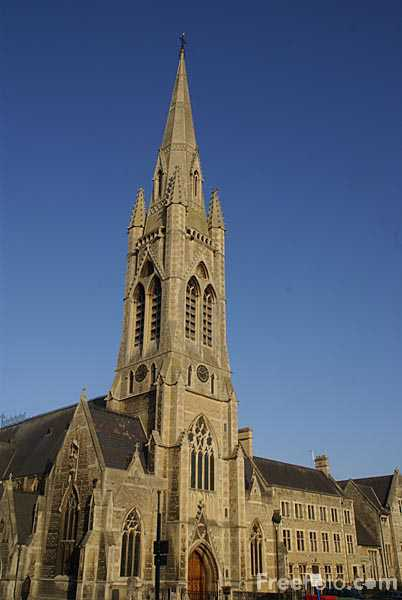 Picture of St John the Evangelist Catholic Church, City of Bath - Free Pictures - FreeFoto.com