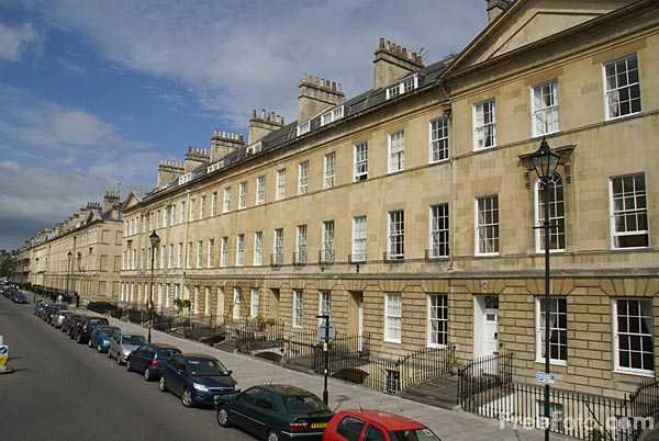 Picture of Great Pulteney Street, City of Bath - Free Pictures - FreeFoto.com
