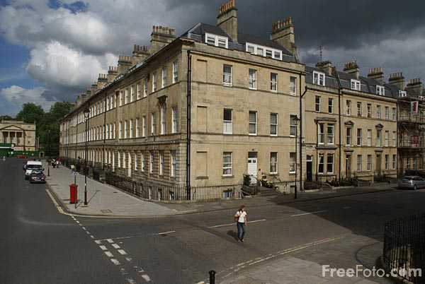 Picture of Great Pulteney Street. City of Bath - Free Pictures - FreeFoto.com
