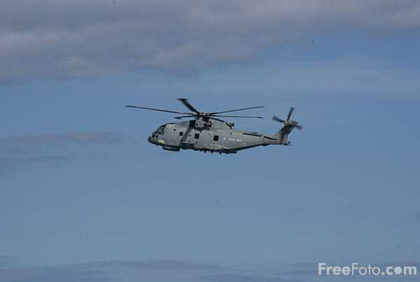 Picture of Royal Navy Merlin Helicopter - Free Pictures - FreeFoto.com