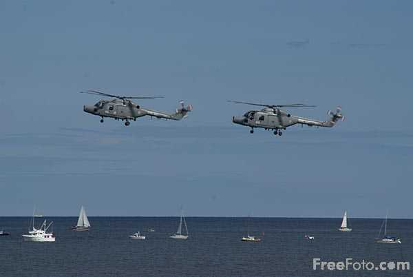 Picture of Black Cats Royal Navy Helicopter Display Team - Free Pictures - FreeFoto.com