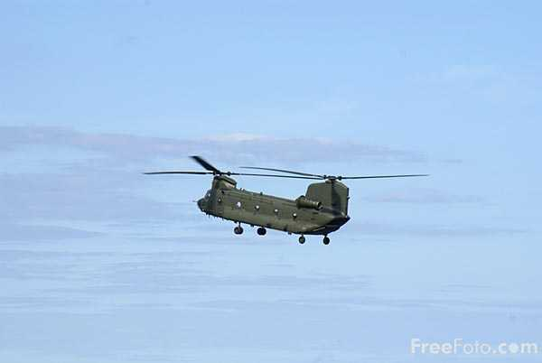 Picture of Chinook Helicopter - Free Pictures - FreeFoto.com