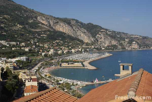 Picture of Menton, Cote d'Azur - Free Pictures - FreeFoto.com