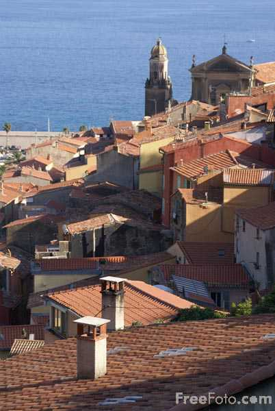 Picture of Menton Old Town, Cote d'Azur - Free Pictures - FreeFoto.com