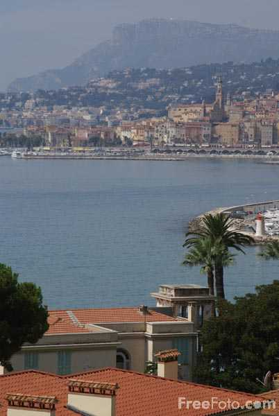 Picture of View of Menton - Free Pictures - FreeFoto.com
