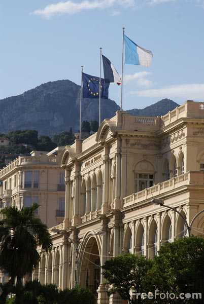 Picture of Palais de l'Europe, Menton - Free Pictures - FreeFoto.com