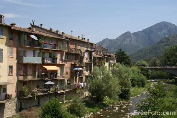 Picture of River Bevera, Sospel - Free Pictures - FreeFoto.com