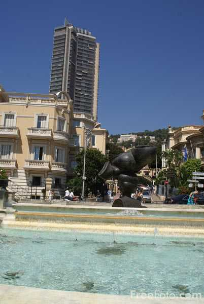 Picture of Casino Gardens, Monte Carlo - Free Pictures - FreeFoto.com