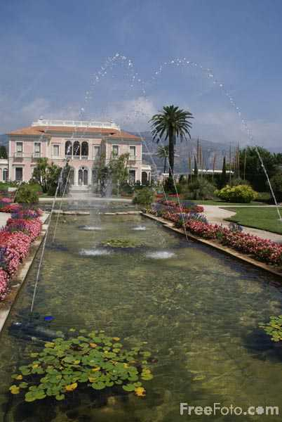 Picture of Villa Ephrussi de Rothschild - Free Pictures - FreeFoto.com
