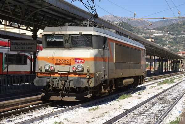 Picture of SNCF B-B electric 1 22324 - Free Pictures - FreeFoto.com