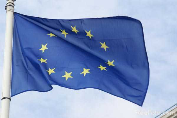 Picture of EU Flag - Free Pictures - FreeFoto.com