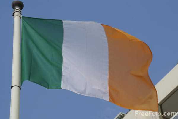 Picture of Flag of Ireland - Free Pictures - FreeFoto.com