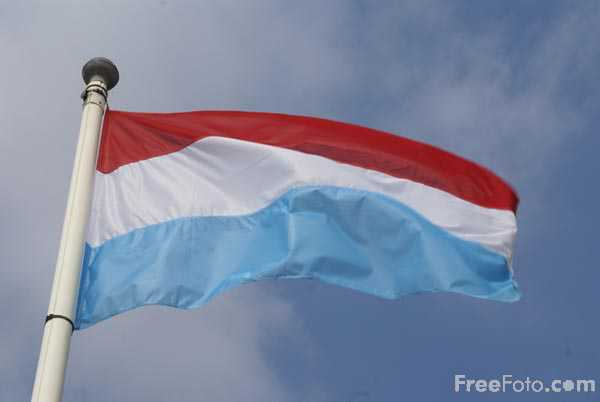 Picture of Flag of Luxembourg - Free Pictures - FreeFoto.com