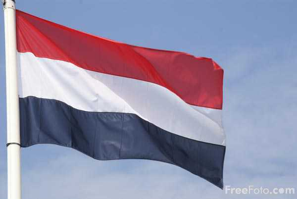Picture of Flag of the Netherlands - Free Pictures - FreeFoto.com