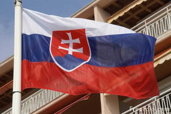 Picture of Flag of Slovakia - Free Pictures - FreeFoto.com