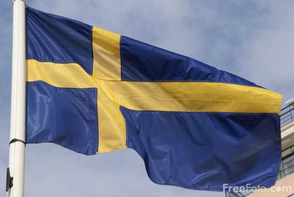 Picture of Flag of Sweden - Free Pictures - FreeFoto.com