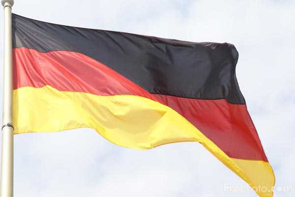 Picture of Flag of Germany - Free Pictures - FreeFoto.com
