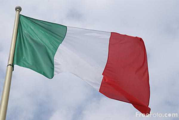 Picture of Flag of Italy - Free Pictures - FreeFoto.com