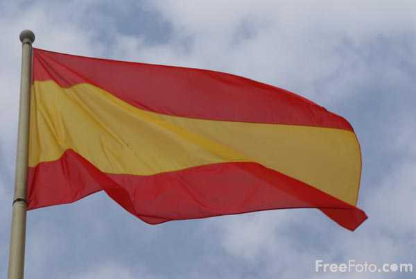 Picture of Spanish Flag - Free Pictures - FreeFoto.com