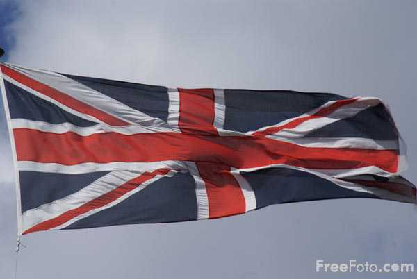 Picture of Flag of the United Kingdom - Free Pictures - FreeFoto.com