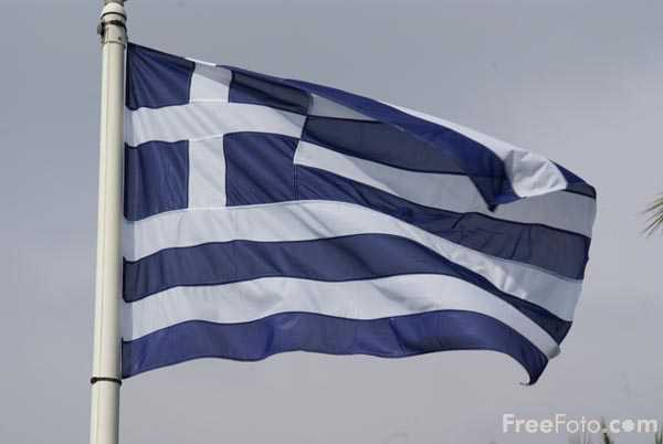 Picture of Flag of Greece - Free Pictures - FreeFoto.com