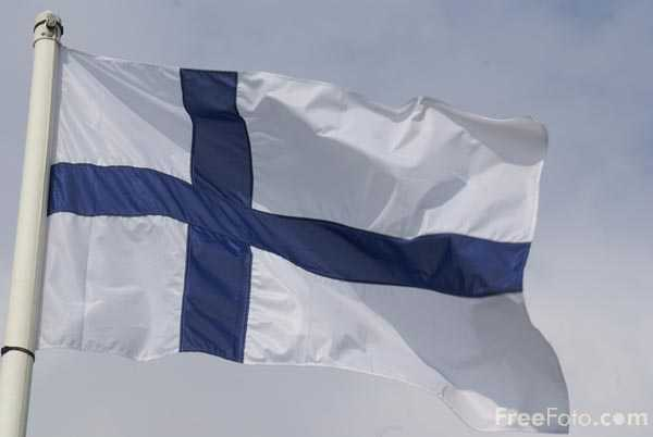 Picture of Flag of Finland - Free Pictures - FreeFoto.com