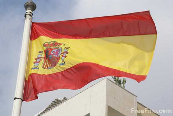 Picture of Flag of Spain - Free Pictures - FreeFoto.com