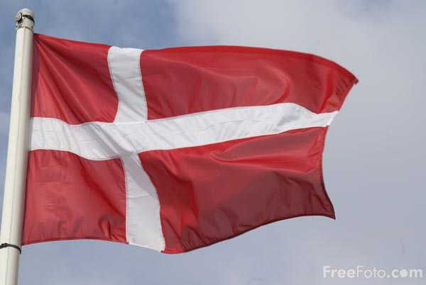 Picture of Flag of Denmark - Free Pictures - FreeFoto.com