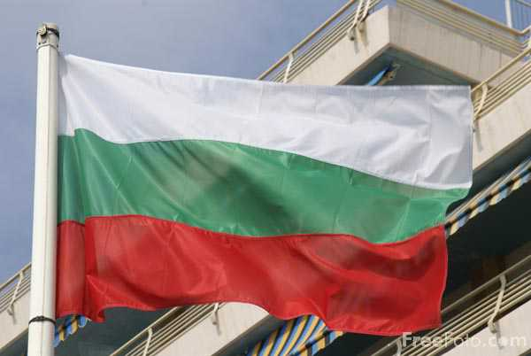 Picture of Flag of Bulgaria - Free Pictures - FreeFoto.com