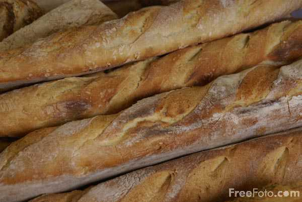 Picture of A baguette - Free Pictures - FreeFoto.com