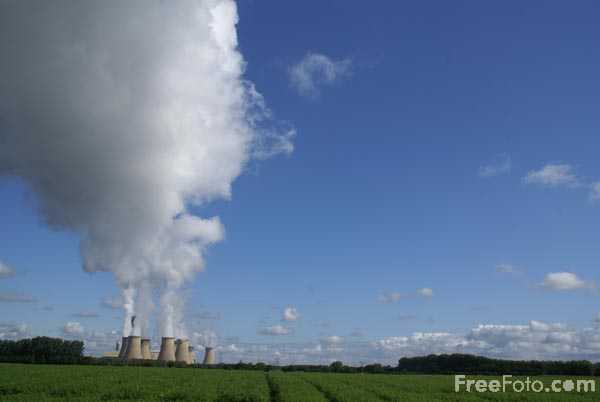 Picture of Drax Power Station - Free Pictures - FreeFoto.com