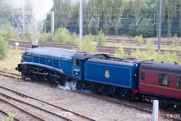 Picture of LNER A4 Class 4-6-2 no 60007 Sir Nigel Gresley - Free Pictures - FreeFoto.com