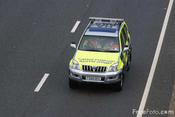 Picture of Highways Agency Patrol Vehicle - Free Pictures - FreeFoto.com