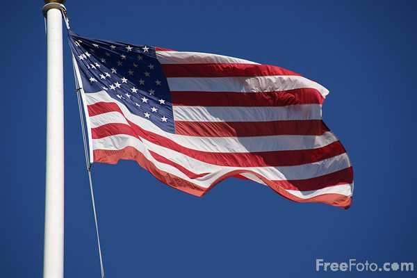 Picture of American Flag - Free Pictures - FreeFoto.com