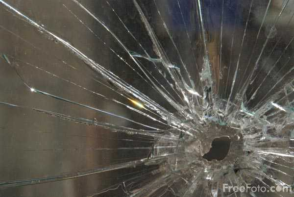 Picture of Broken Window - Free Pictures - FreeFoto.com