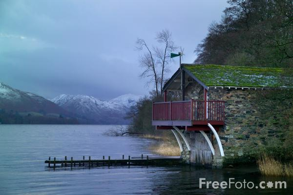 Picture of Boat House, Ullswater - Free Pictures - FreeFoto.com