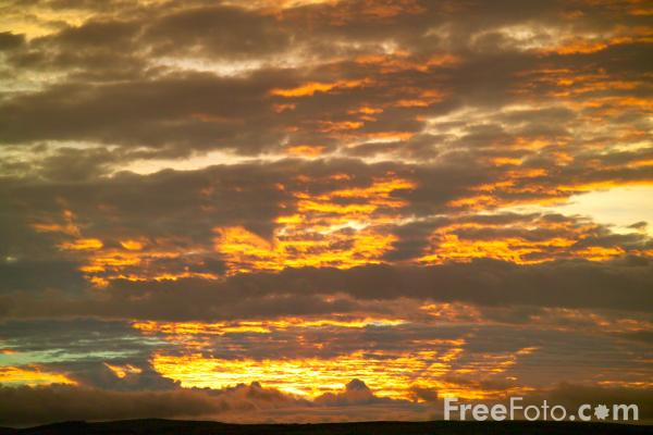 Picture of SunsetSunset - Free Pictures - FreeFoto.com