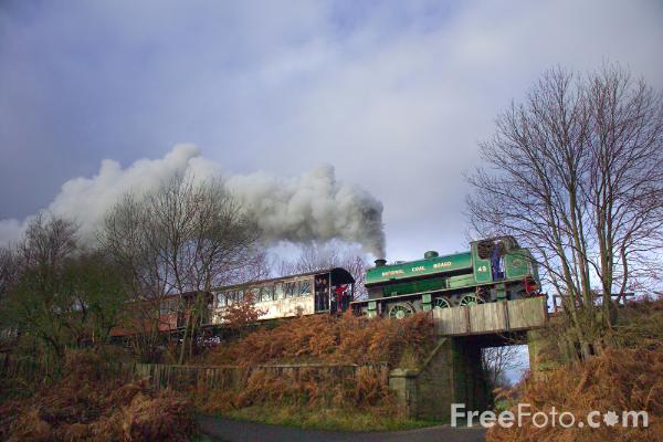 Picture of Tanfield Railway - Free Pictures - FreeFoto.com