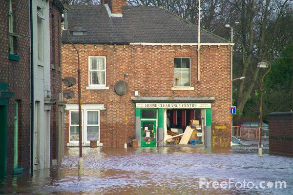 Picture of Carlisle floods January 2005 - Free Pictures - FreeFoto.com