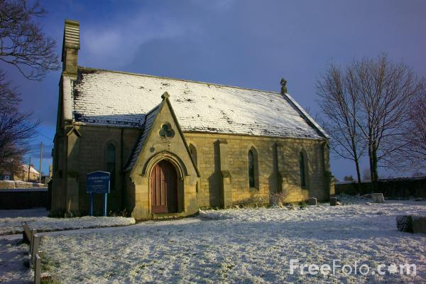 Picture of St. Hilda's Church, Caldwell - Free Pictures - FreeFoto.com