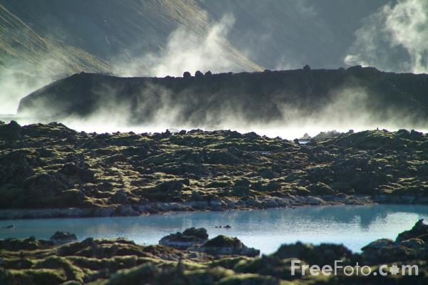 Picture of The Blue Lagoon, Iceland - Free Pictures - FreeFoto.com