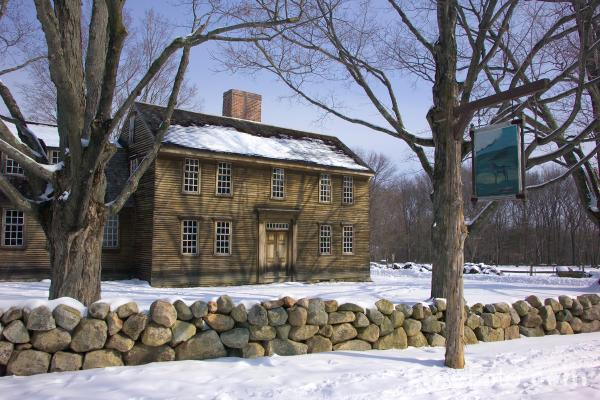 Picture of Hartwell Tavern, Lexington, Massachusetts, USA. - Free Pictures - FreeFoto.com