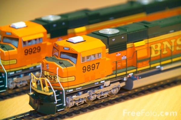 Picture of Athearn Genesis SD70 MAC model train - Free Pictures - FreeFoto.com