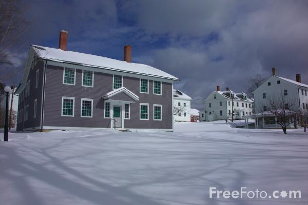 Picture of Canterbury shaker village, New Hampshire, USA - Free Pictures - FreeFoto.com