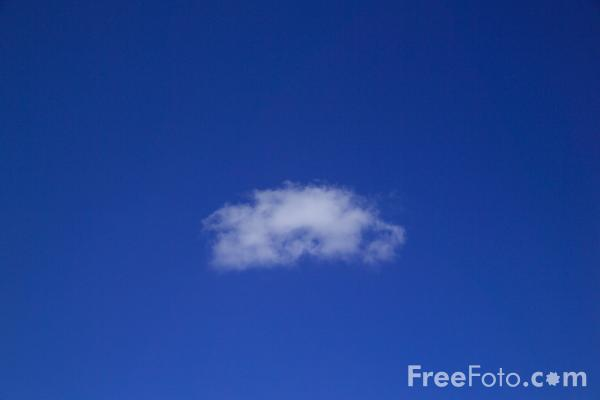 Picture of Little Cloud - Free Pictures - FreeFoto.com