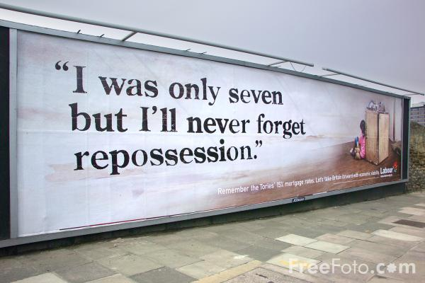 Picture of I was only seven but I'll never forget repossession - Free Pictures - FreeFoto.com